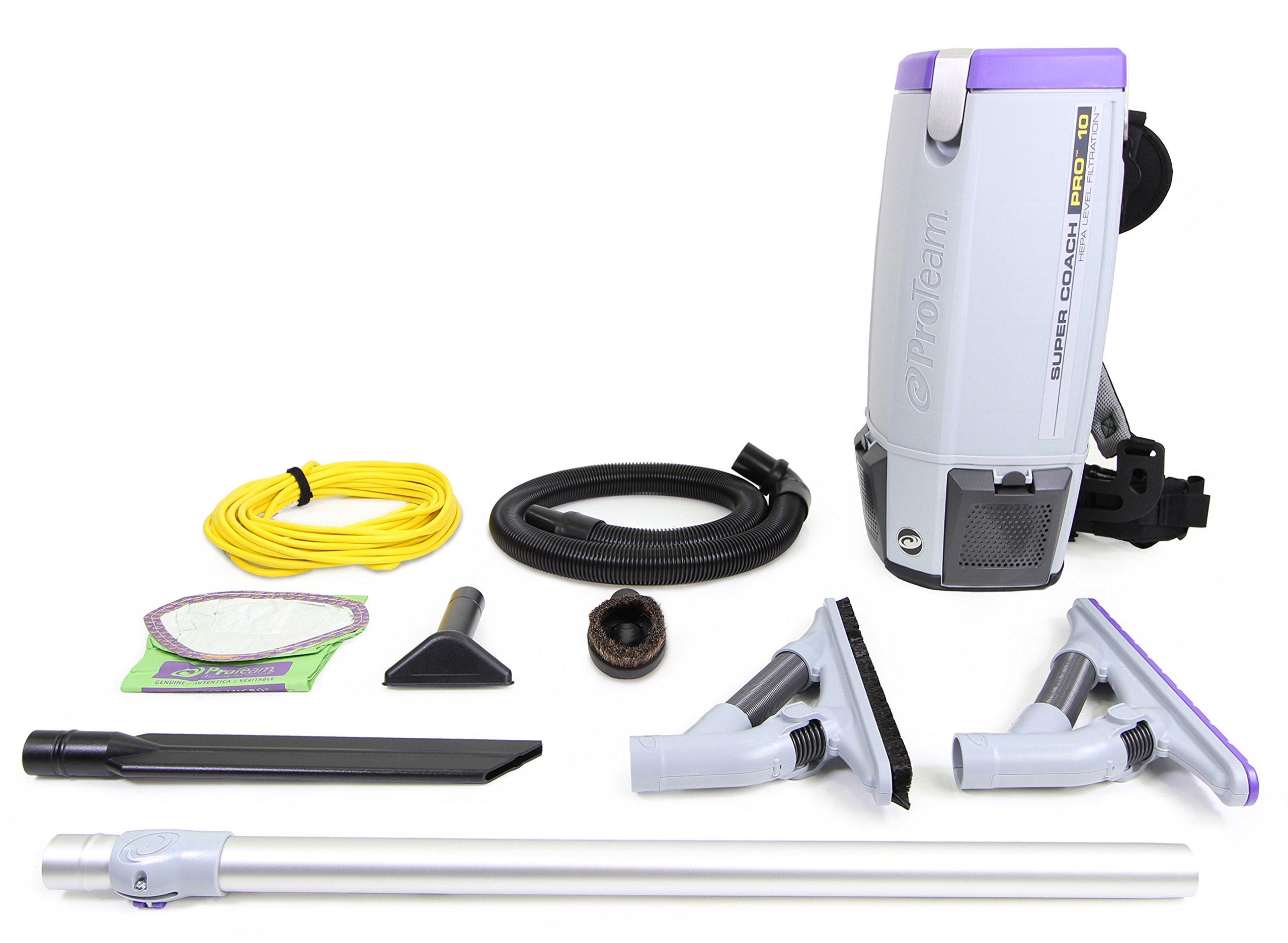 Pro Team Super Coach Pro 10 QT Backpack Vacuum Cleaner