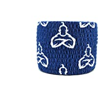 Liftgenie Tearable Elastic Adhesive Weightlifting Tape | Protects Thumbs When Lifting Weights & Prevents Knurling | Stretchy Adhesive Athletic Hook Grip Tape for Weightlifters