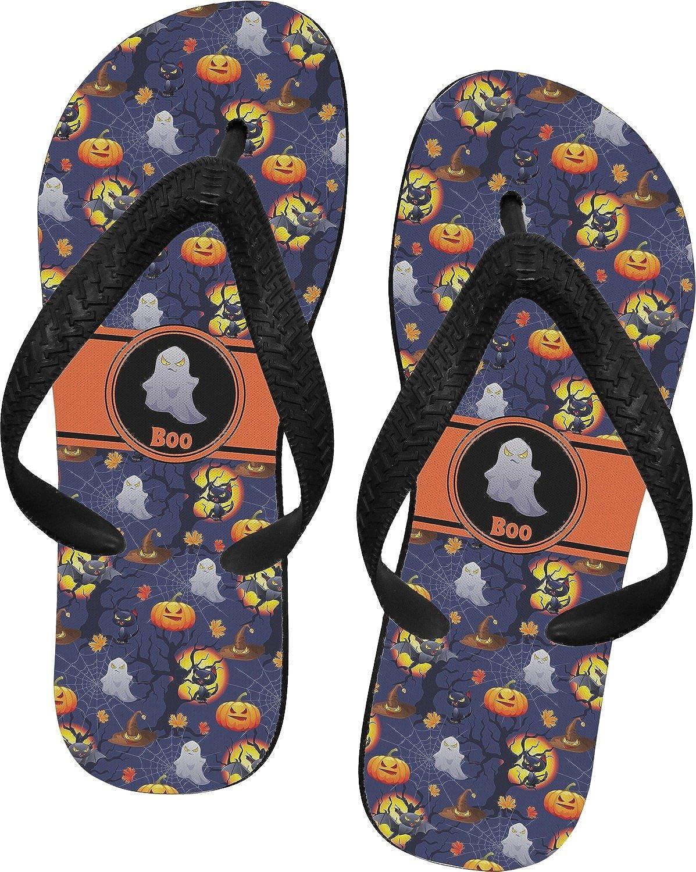 Halloween Night Flip Flops (Personalized)