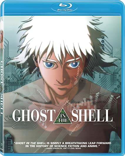 Amazon Com Ghost In The Shell 25th Anniversary Edition Blu Ray Anime Characters Mamoru Oshii Movies Tv