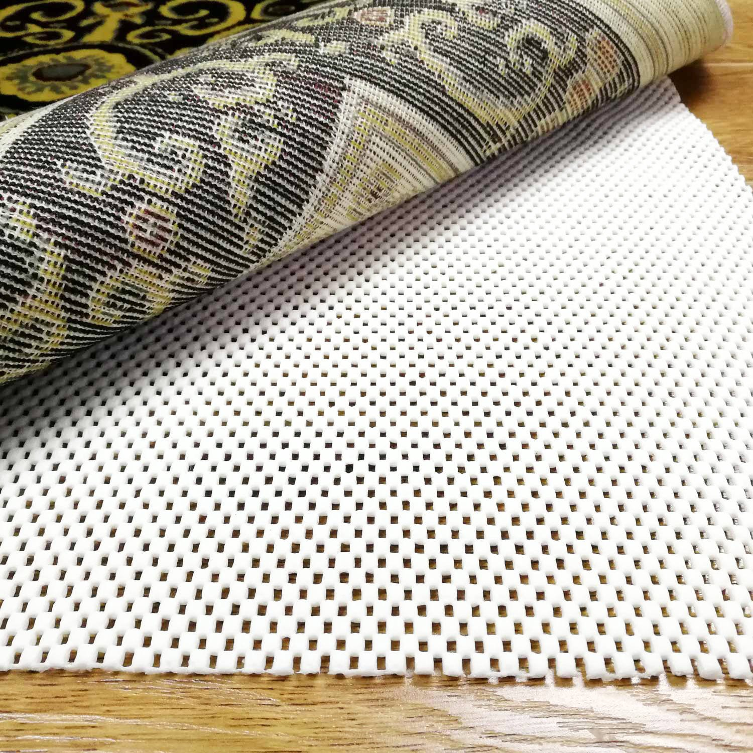 KANECH Rug Pads 5'x7'- Extra Thick- Area Rug Pads Non Slip for Hardwood Floors-Keeps Your Rugs Safe And in Place