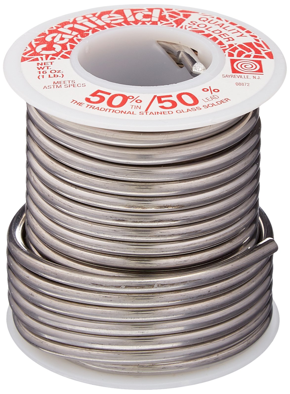 Canfield 50/50 Solder - 1 Lb Roll by Canfield