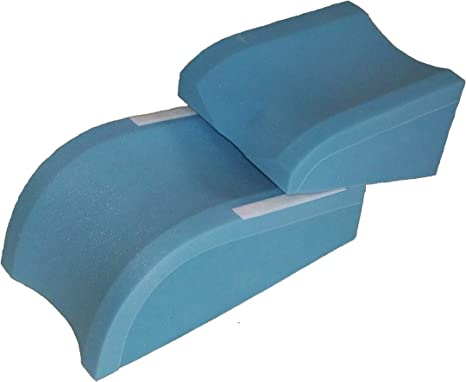 Amazon.com: Total Knee Replacement Cushion Physical Therapy Leg Elevation Pillow, Reduces Swelling, for Surgery or Injury (Small): Home & Kitchen