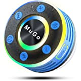 MuGo Bluetooth Shower Speaker, IPX7 Waterproof Bluetooth Speaker with Suction Cup, Handsfree Mini Wireless Portable…