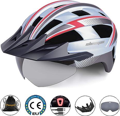 Shinmax Casco Bicicleta Carretera Casco Seguridad CE stándar/Casco ...