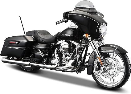 Harley Davidson Street Glide Special Black 2015 Model Car Maisto 1 12