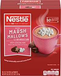 Nestle Hot Cocoa Mix, Rich Chocolate Flavor with Mini Marshmallows, 0.71 oz Packets (