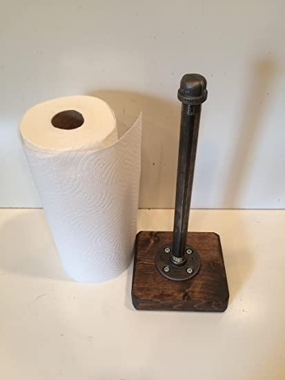 rustic paper towel holder Amazon.com: Industrial Rustic Urban Pipe Paper Towel Holder (Pick  rustic paper towel holder
