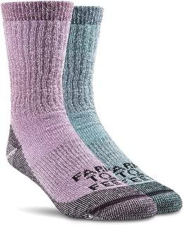 product image for Farm to Feet Unisex Boulder Medium Weight Merino Wool Hiking Crew Socks