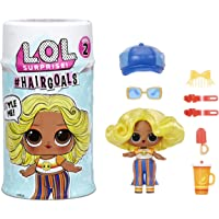 L.O.L. Surprise! 572657EUC #Hairgoals Series 2 Doll with Real Hair and 15 Surprises, Accessories, Surprise Dolls white