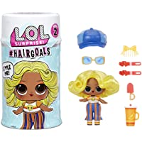 LOL Surprise Hairgoals Series 2 Doll with Real Hair and 15 Surprises, Accessories, Surprise Dolls