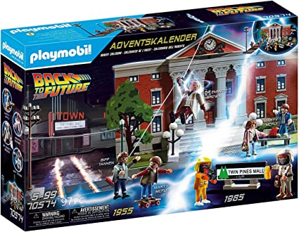 Back to the Future Playmobil Advent Calendar