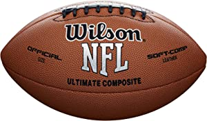 Wilson Ultimate Composite Game Football (Official Size)