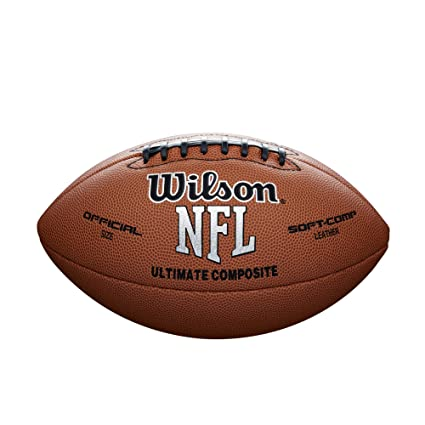 Wilson NFL Ultimate Composite Game Football (Official Size)