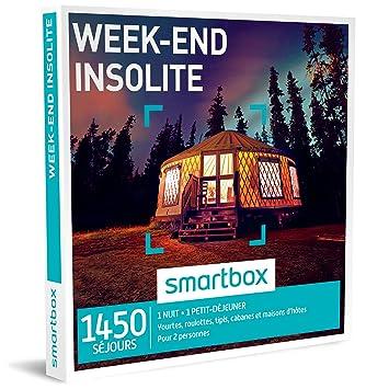Smartbox - Caja regalo «Week-end Insolite», 800 destinos: yurtas, caravanas, tipis, cabañas y casas de huéspedes: Amazon.es: Salud y cuidado personal