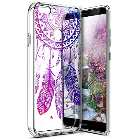 Amazon.com: Huawei P Smart Case, Carcasa de silicona TPU ...