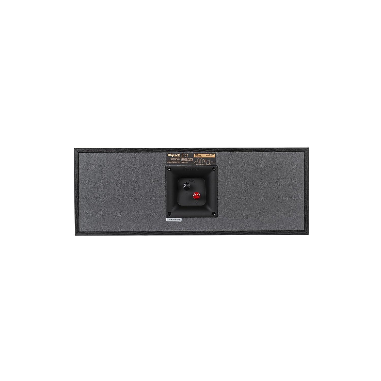 Klipsch R52C Powerful detailed Center Channel Home Speaker  Black