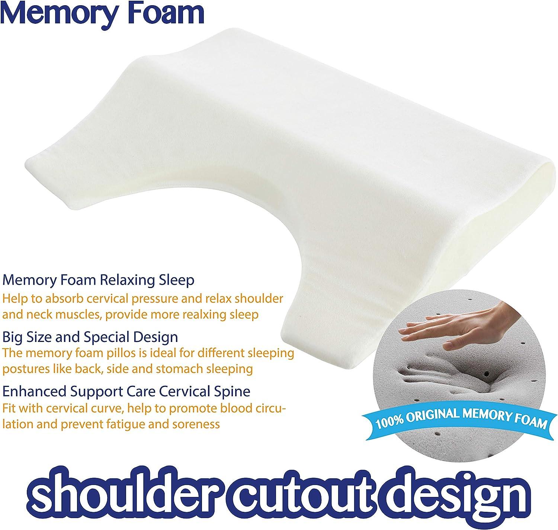 COMFYT Side Sleeper Pillow Shoulder