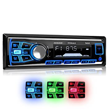 XOMAX XM-RSU254BT Autoradio mit Bluetooth: Amazon.de: Elektronik