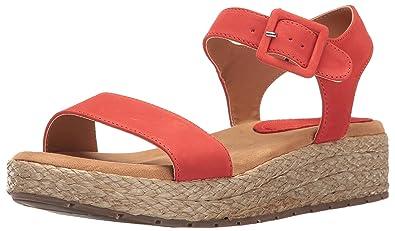 1fd744dcc Kenneth Cole REACTION Women s Calm Water Platform Sandal Red 5 ...