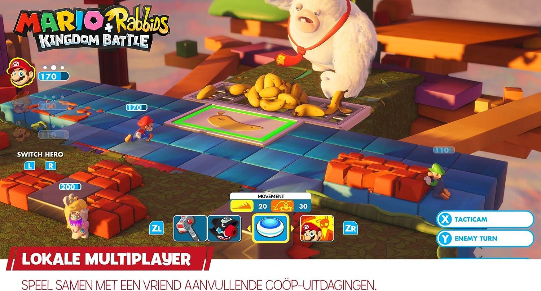 Mario Plus Rabbids Kingdom Battle - Nintendo Switch [Importación ...