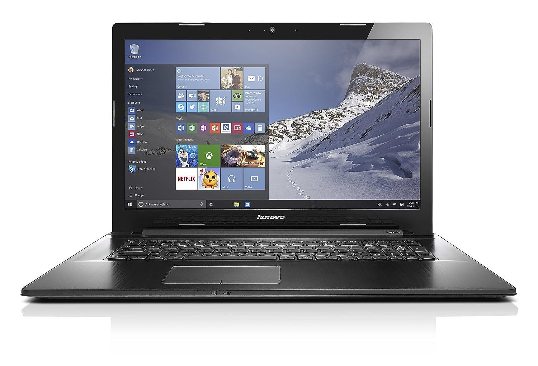Lenovo Z70 80FG00DBUS 17.3 Inch Intel Core i7 5500U (2.40 GHz) 8 GB Memory 1 TB + 8 GB SSHD NVIDIA GeForce 840M Windows 10 Home