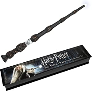 Harry Potter The Elder Wand with illuminating tip