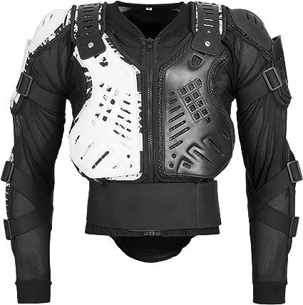 Bohmberg Body Protector Safty Chaqueta Protectores Camisa Pecho Motocicleta Protectores Protectores Chaqueta Motocicleta Camisa Protector de pecho Protección contra caídas Chaqueta de protección -: Amazon.es: Coche y moto