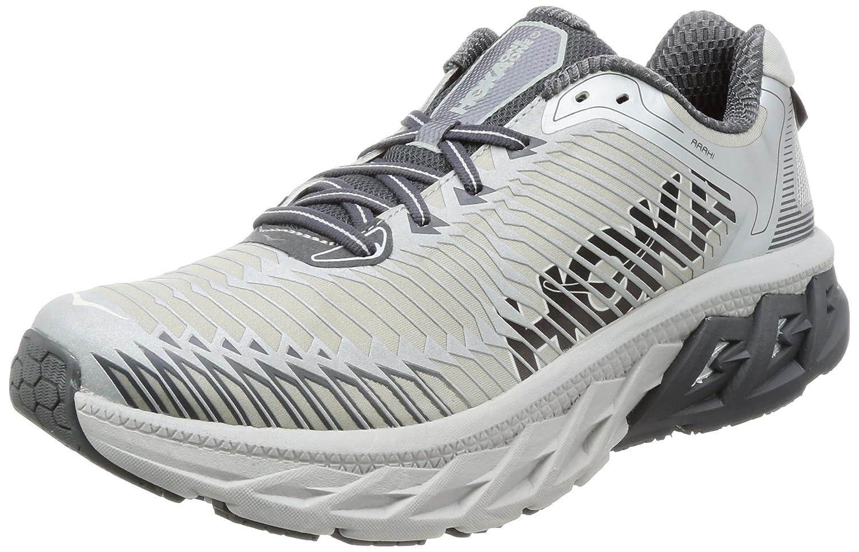 HOKA ONE ONE Mens Arahi Running Shoe B01MT1BTTK 8 D(M) US|Lunar Rock/Castlerock