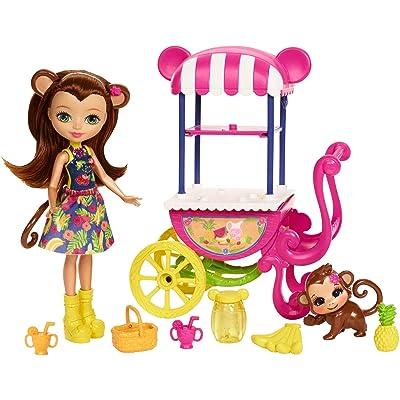 Enchantimals Fruit Cart Doll Set: Toys & Games