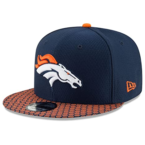 44de56e023f Image Unavailable. Image not available for. Color  New Era Denver Broncos  9Fifty 2017 On Field Sideline Snapback Hat