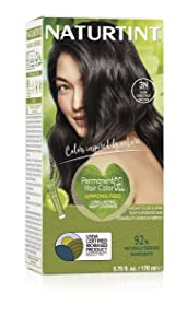 Naturtint Permanent Hair Color 3N Dark Chestnut Brown (Pack of 1), Ammonia Free, Vegan, Cruelty Free, up to 100% Gray Coverage, Long Lasting Results