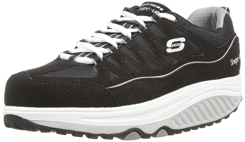 Skechers Women's Shape Ups 2.0 Comfort Stride Fashion Sneaker B00RKGX6VM 9 B(M) US|Black/White
