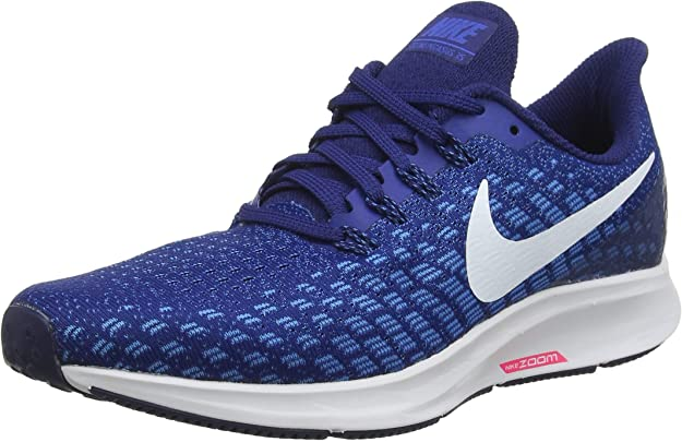 Nike Air Zoom Pegasus 35, Zapatillas de Running para Hombre, Azul (Indigo Force/White/Photo Blue/Blue Void 404), 47 EU: Amazon.es: Zapatos y complementos