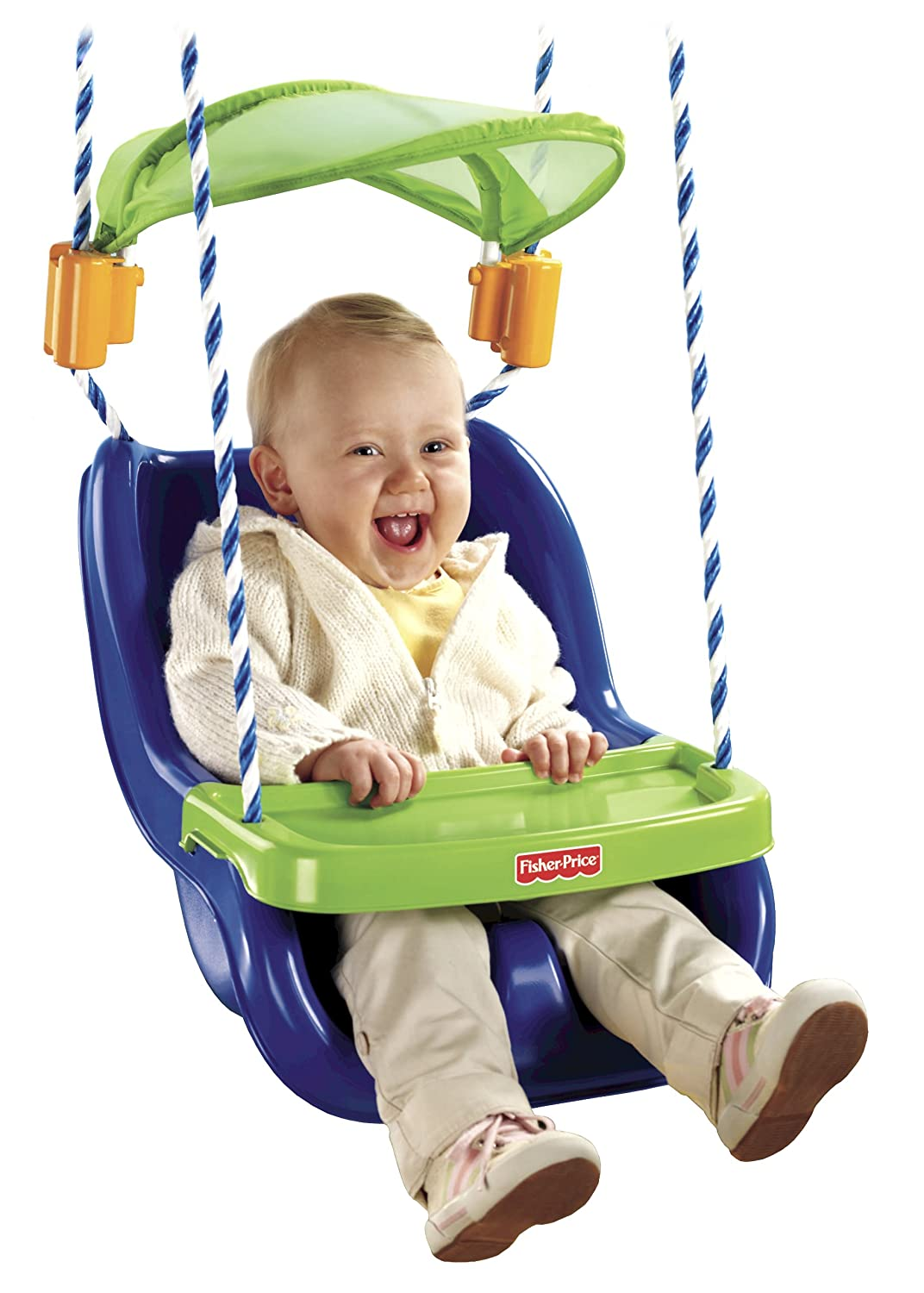 Amazon Fisher Price Infant To Toddler Swing With Sunshield Toys Games