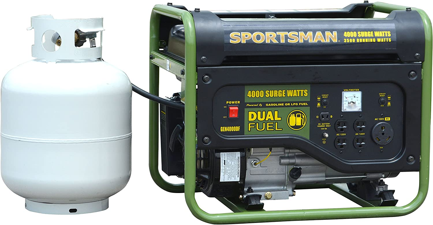 Sportsman Dual Fuel Powered Portable Generator