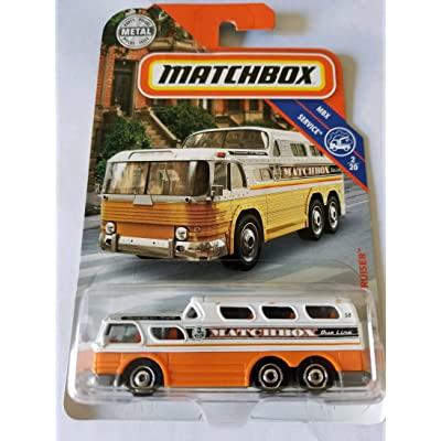 Matchbox 2020 MBX Service 2/20 - 1955 GMC Scenic Cruiser: Toys & Games