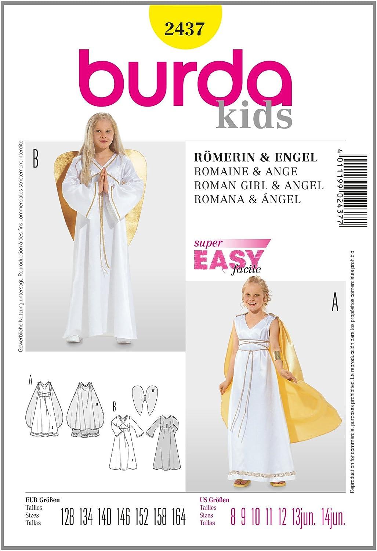 Schnittmuster Burda 2437 Engel Gr. 128-164: Amazon.de: Küche & Haushalt