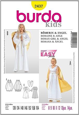 Burda Schnittmuster 2437 Engel Gr. 128-164: Amazon.de: Küche & Haushalt