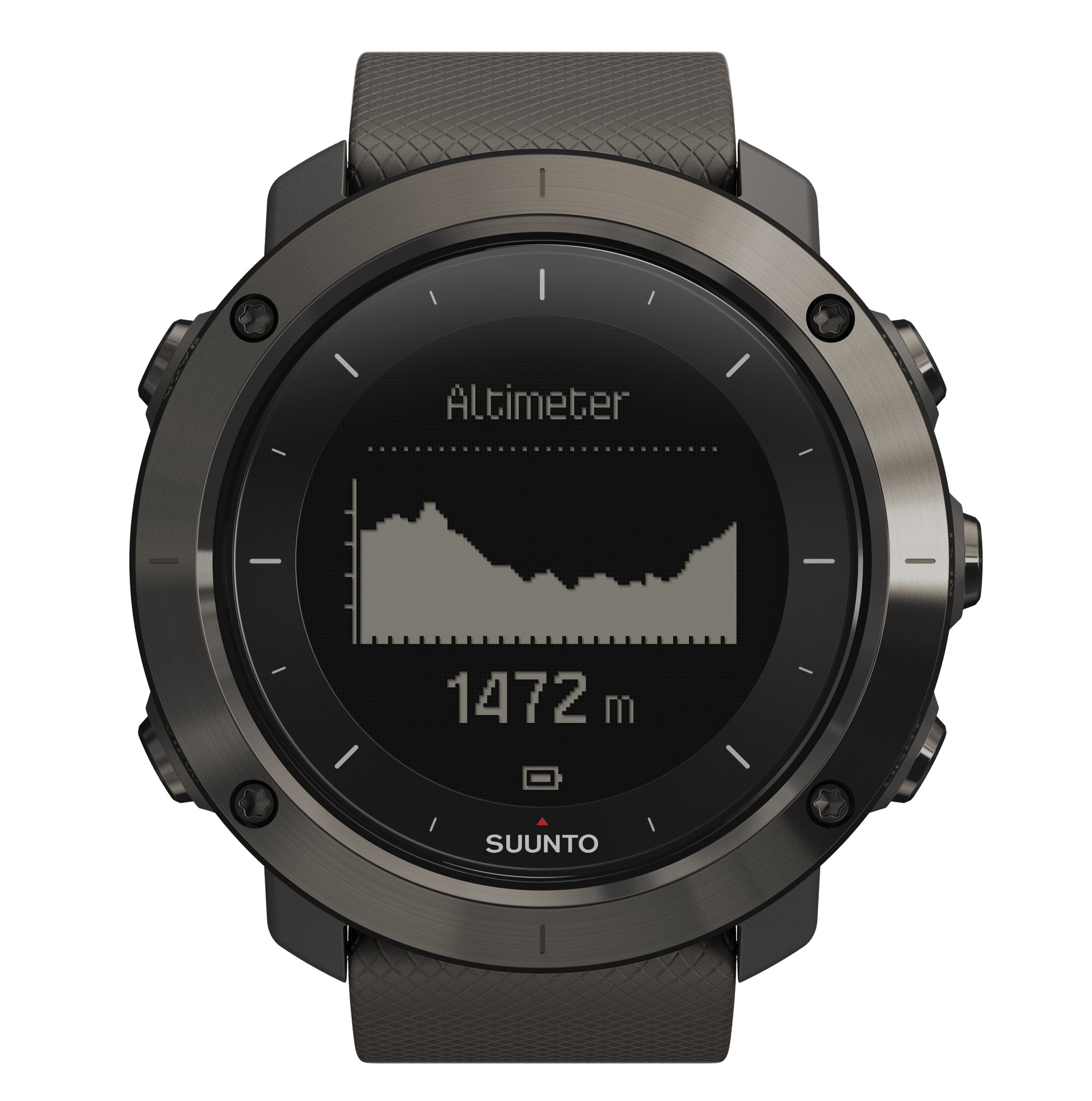Suunto Traverse GPS Outdoor Hiking Watch with Versatile Navigation Functions and Wearable4U Ultimate Power Pack Bundle (Graphite) by Wearable4u (Image #3)