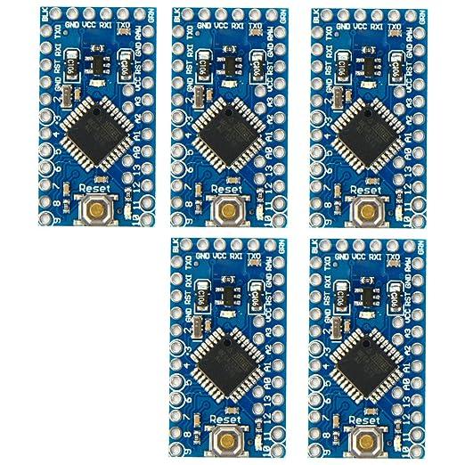 8 opinioni per XCSOURCE 5pc Pro Mini Enhancement ATMEGA328P 16MHz 5V Compatibile Arduino PRO