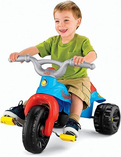 Amazon.com: Triciclo resistente de Fisher-Price, Multi Color ...