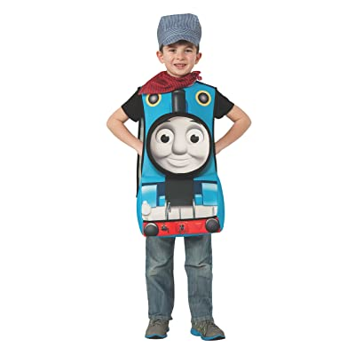 Rubies Thomas and Friends Deluxe 3D Thomas The Tank Engine Costume, Child Small: Toys & Games
