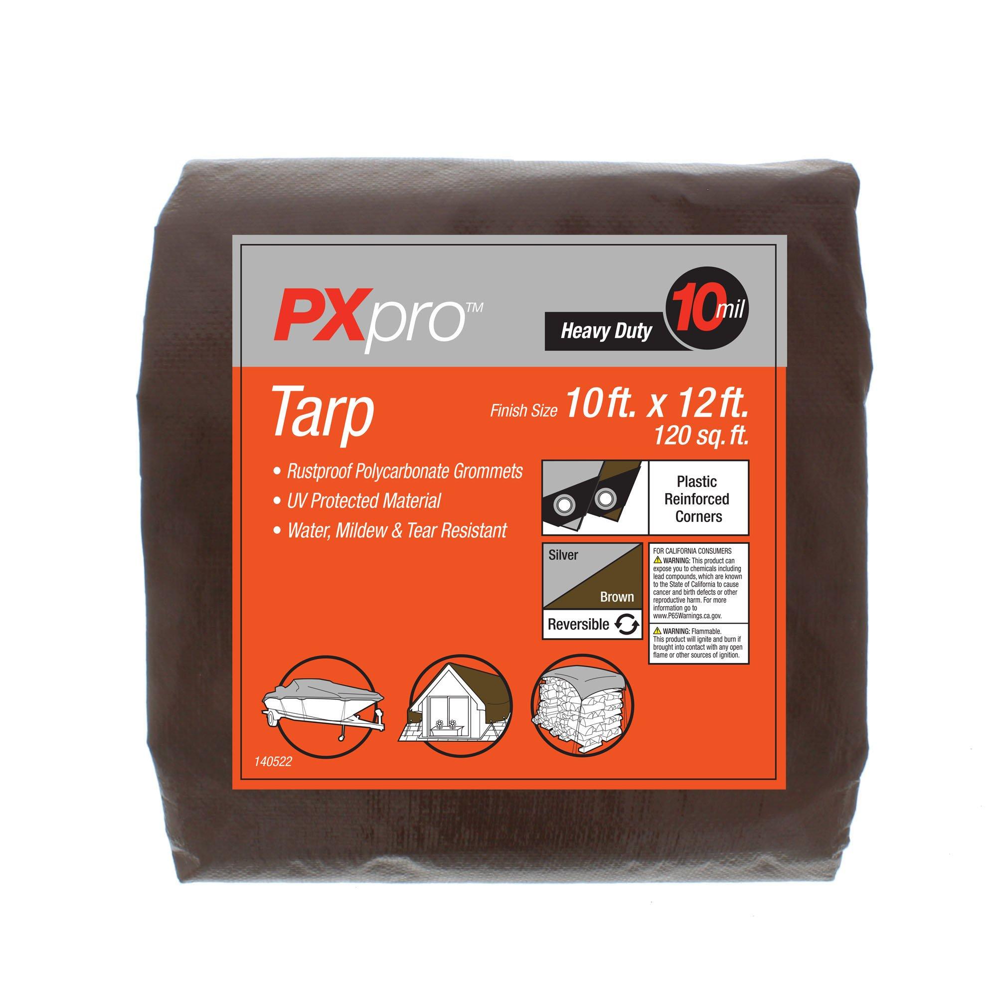 PXpro Heavy Duty Tarp 10'X12' by PXpro