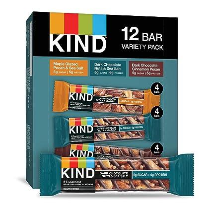 Amazon.com: Tipo, barras de nueces y especias Variety Pack ...