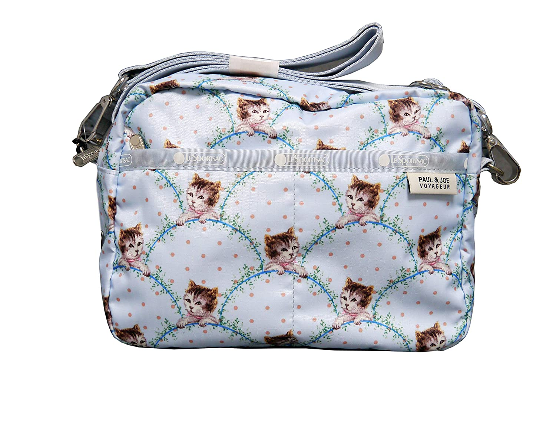 LeSportsac Crossbody Paul/&Joe Collection Austin Crossbody Minibag in Timeless Cat Bleu