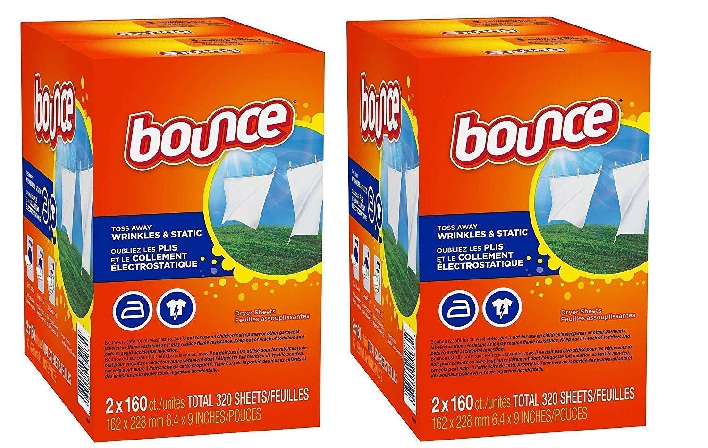 Bounce Fabric Softener Dryer Sheet Outdoor Fresh