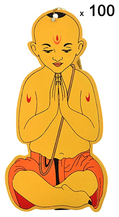 Shubham Upanayana Cards, 5 inches x 10 inches, Pack of 100: Amazon.in: Office Products
