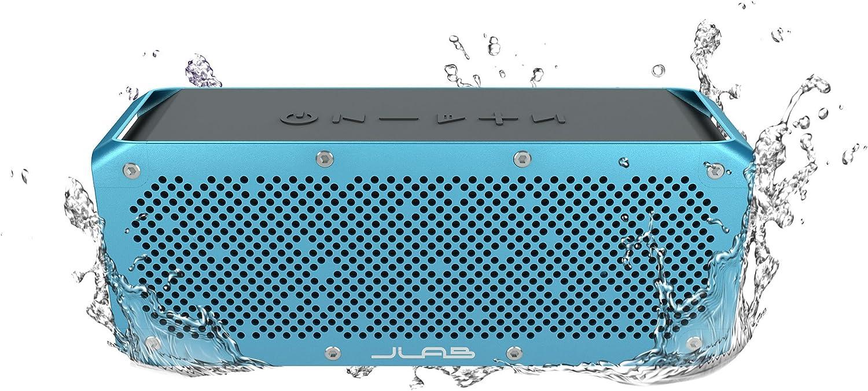 Jlab Audio Crasher Xl Splashproof Portable Bluetooth Speaker, 30 Watts von Audio Power, 13 Hr Battery Life, Connect zu jeder Bluetooth Device (Phone, Tablet, Computer und More)