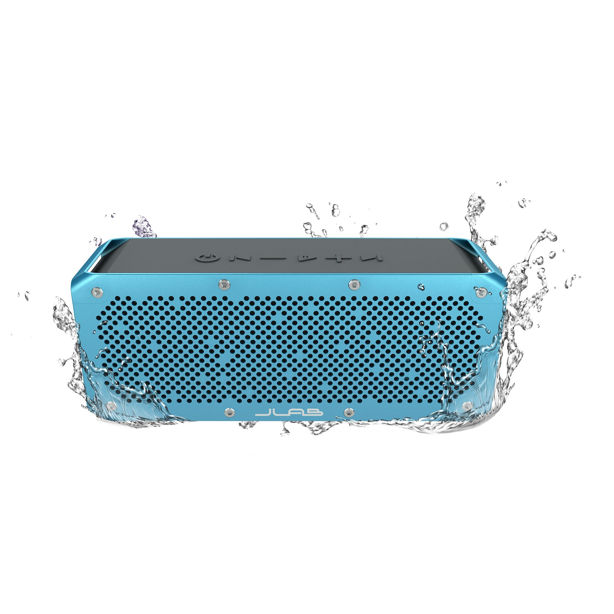 JLab Audio Crasher XL Splashproof Portable Bluetooth Speaker, 30 WATTS of Audio POWER, 13 hr Battery Life, connect to any Bluetooth device (phone, tablet, computer and more)